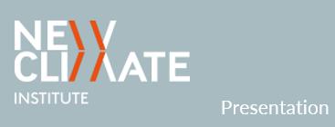 NewClimate Institute Presentation