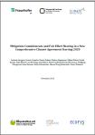 Mitigation commitments
