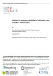 Background paper INDCs