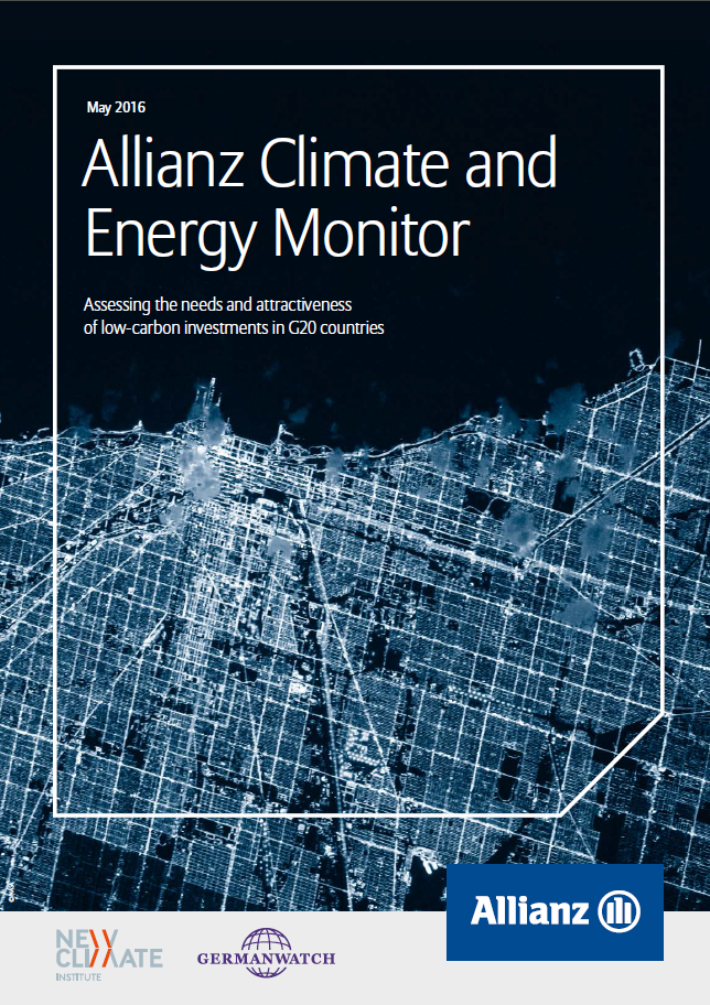 Allianz Climate and Energy Monitor