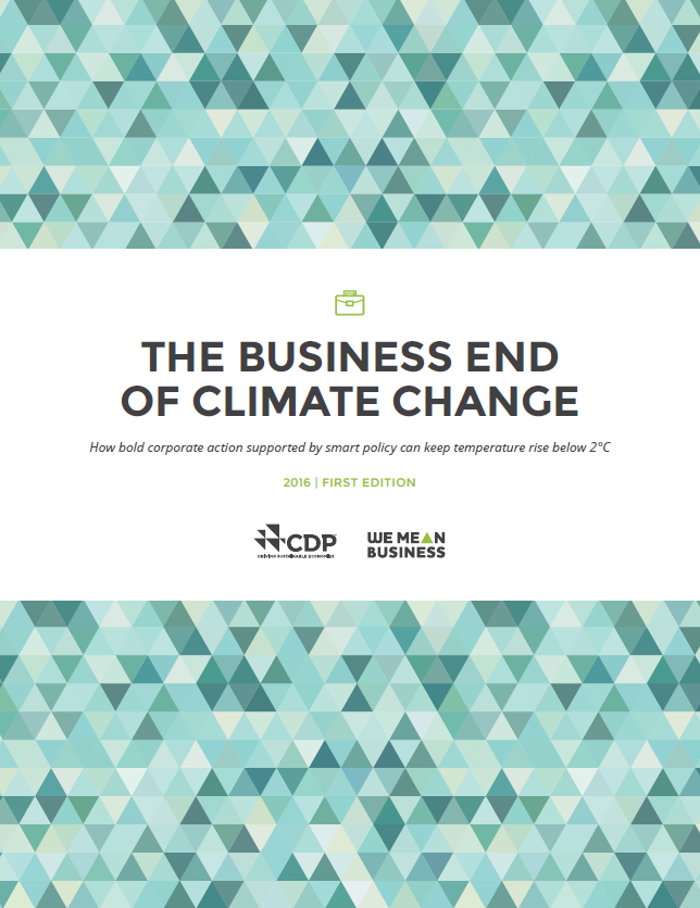 Business end of Climate