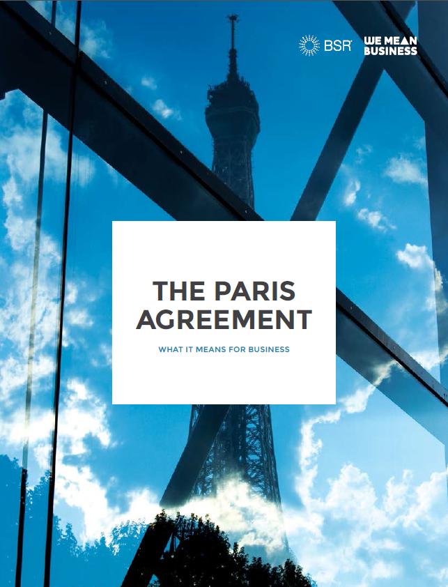 Paris Agreement - We Mean Business